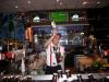 Free pouring - This is one of my memorable picture at TGI Fridays during my training