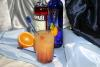 SKYY Blush - This cocktail is my.4 cl of Skyy vodka, 2 cl of campari,filled with orange juice.