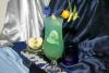 SKYY Blue Lagoon - This cocktail is my favorit. Made from SKYY Vodka- green apple syrup, green apple juice, blue curacao, lime.
